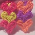 фото браслет из резинок сердце