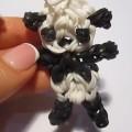 панда на рогатке