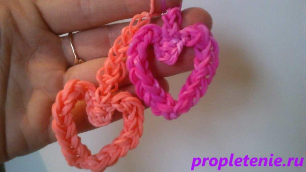Плетение из резинок для начинающих на пальцах.